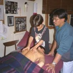 Gary Graham massage lesson