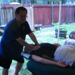 Camp Kokua 2006 Prof. Luke-afternoon of massage