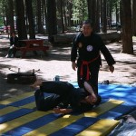 2002 Lake Tahoe, Professor Charlie Lee and Sensei Craig Millar